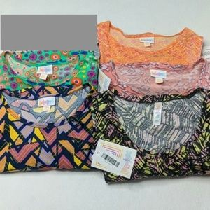 LuLaRoe XXS lot of 5 Perfect Irma NWT